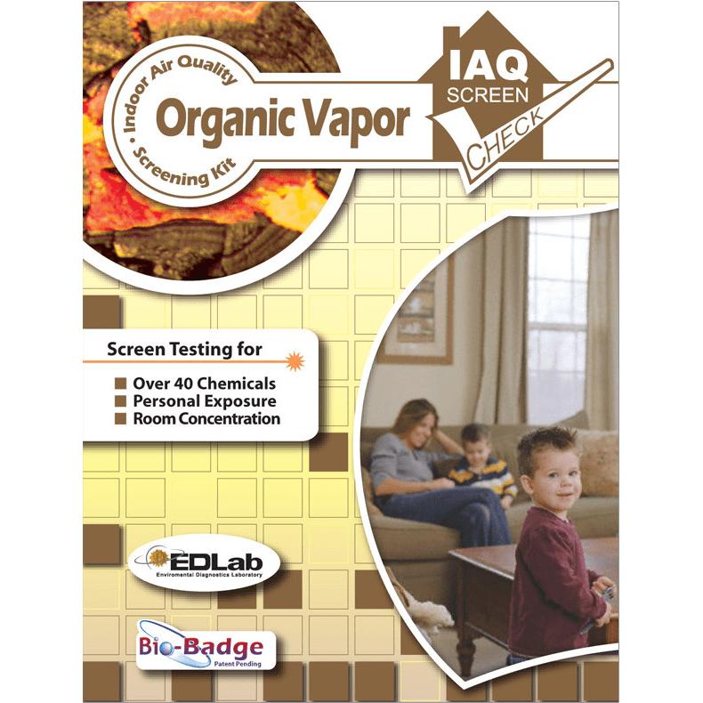 Building Health Check Organic Vapor Test Kit