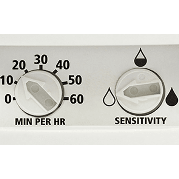 Panasonic Condensation Sensor With Light On//Off Humidity Control Almond