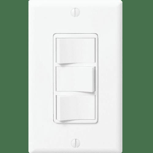 Panasonic Ecoswitch 3 Function Fan Light Night Lite Switch