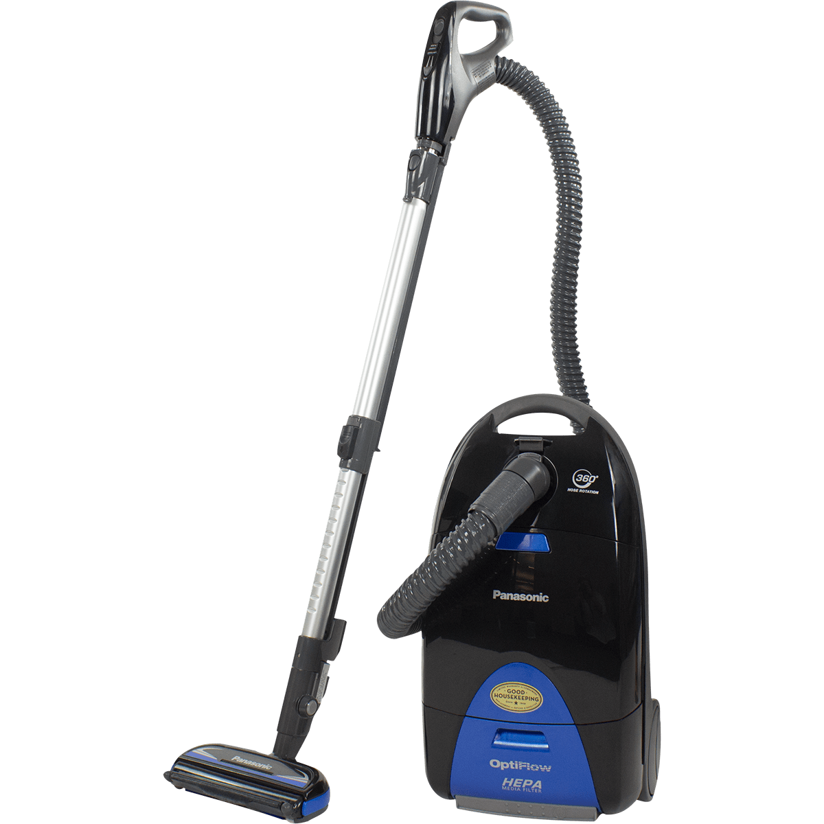 the panasonic mccg957 is great for all carpet types - Panasonic Canister Vacuum