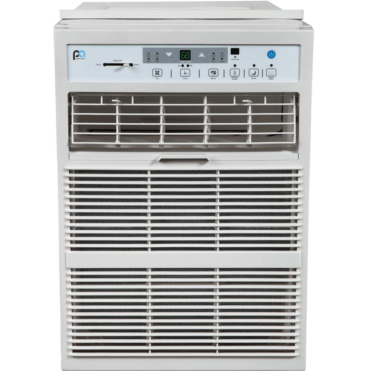 Casement Window Air Conditioner : Perfect aire btu casement window ac sylvane