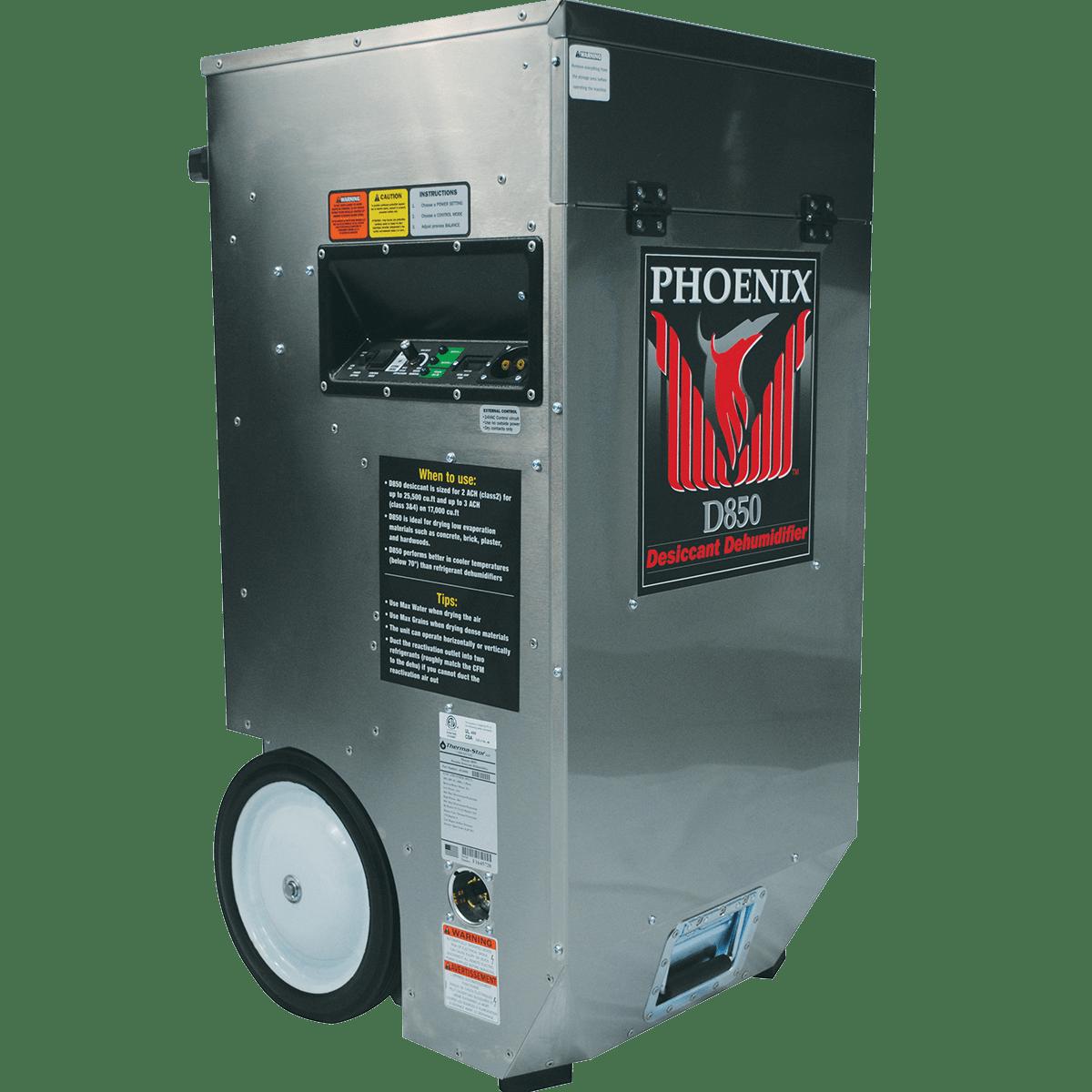 Phoenix D850 Desiccant Dehumidifier Sylvane