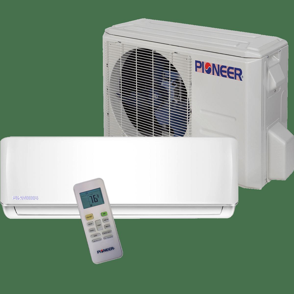 pioneer btu 115v ultra high efficiency minisplit heat pump