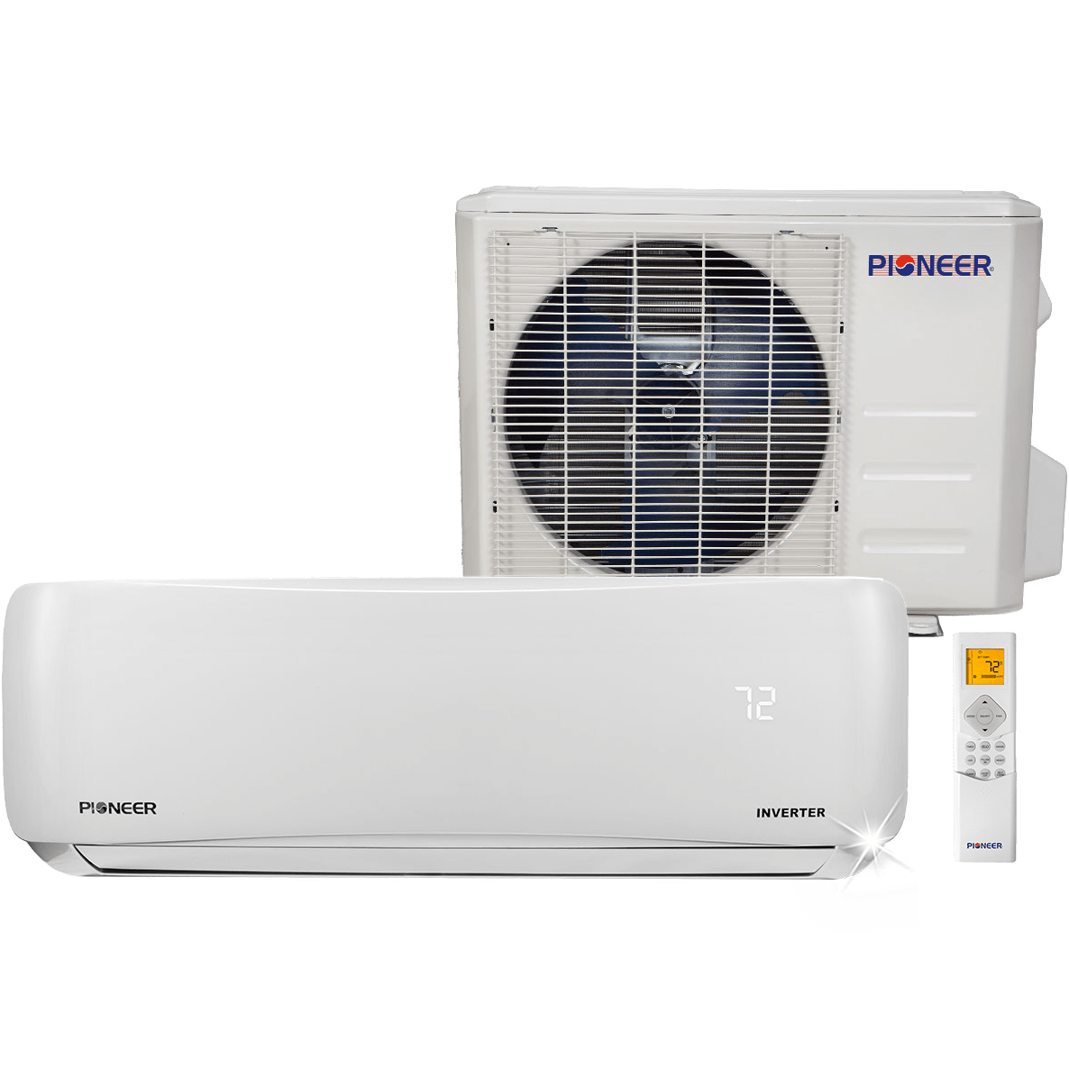 Pioneer 12,000 BTU 115V Mini Split Heat Pump