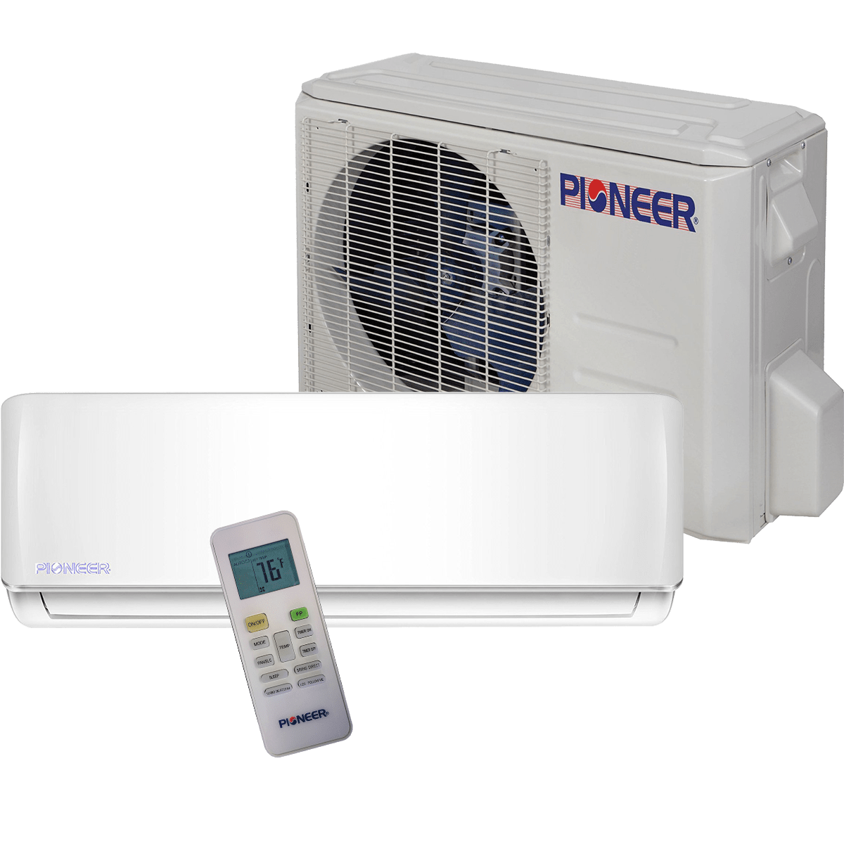 #353B68 Pioneer 9000 BTU Mini Split  230V Sylvane Brand New 1461 Best Mini Split Heat Pump Ratings images with 1200x1200 px on helpvideos.info - Air Conditioners, Air Coolers and more
