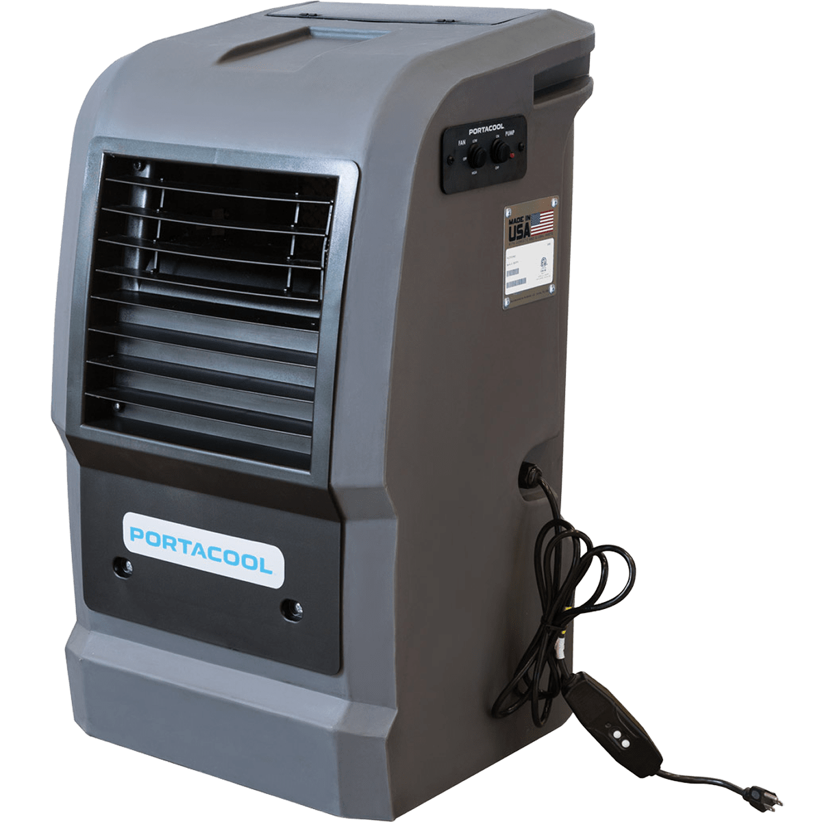 Portacool Cyclone 110 Portable Evaporative Cooler Model: PACCY110GA1