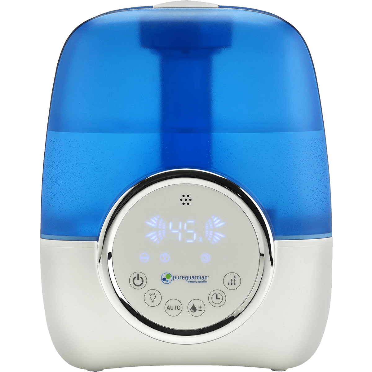 PureGuardian H1250 100-Hour Ultrasonic Cool Mist Humidifier with Digital Smart Mist Sensor ge5658