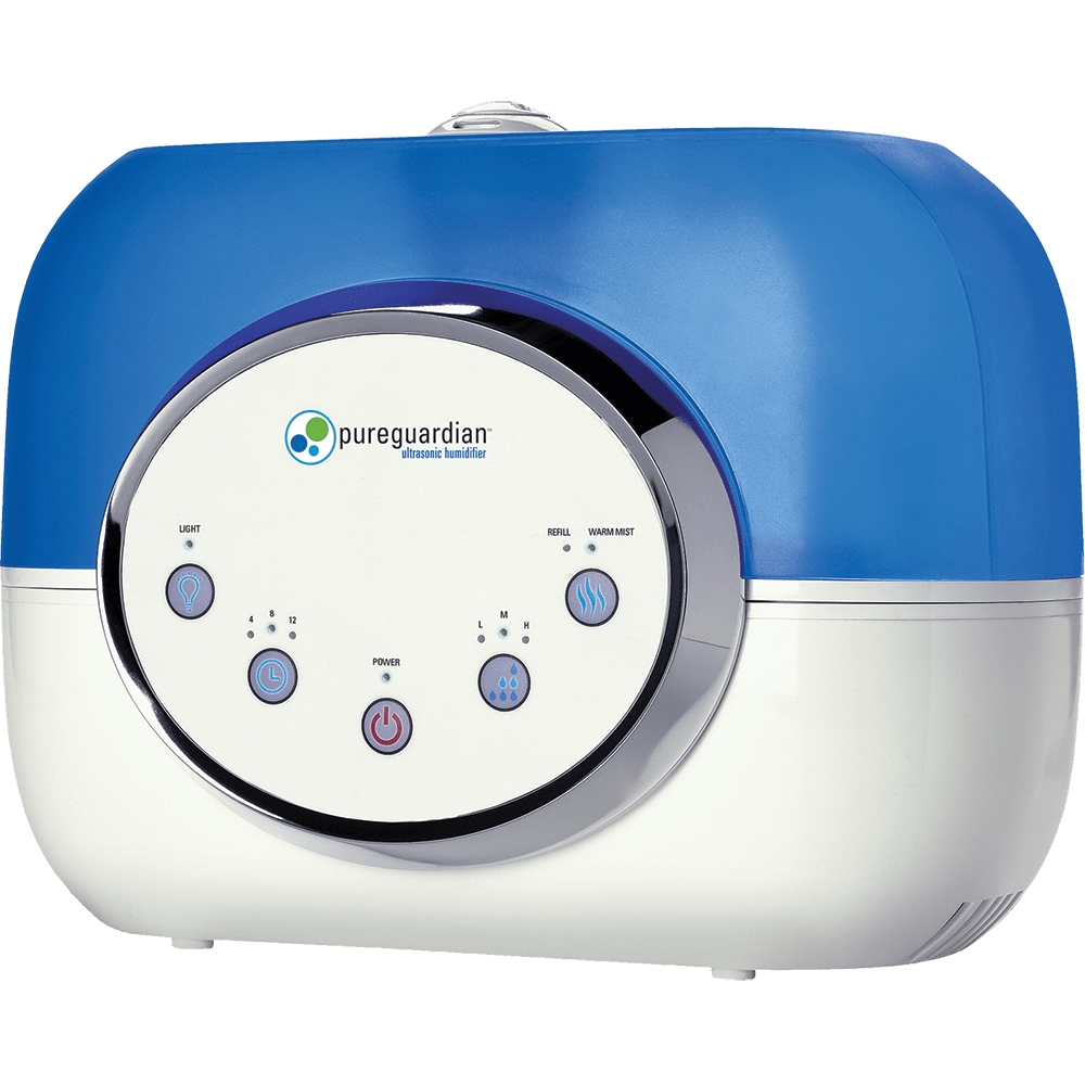 PureGuardian H4610 120-Hour Warm or Cool Mist Ultrasonic Humidifier ge3340
