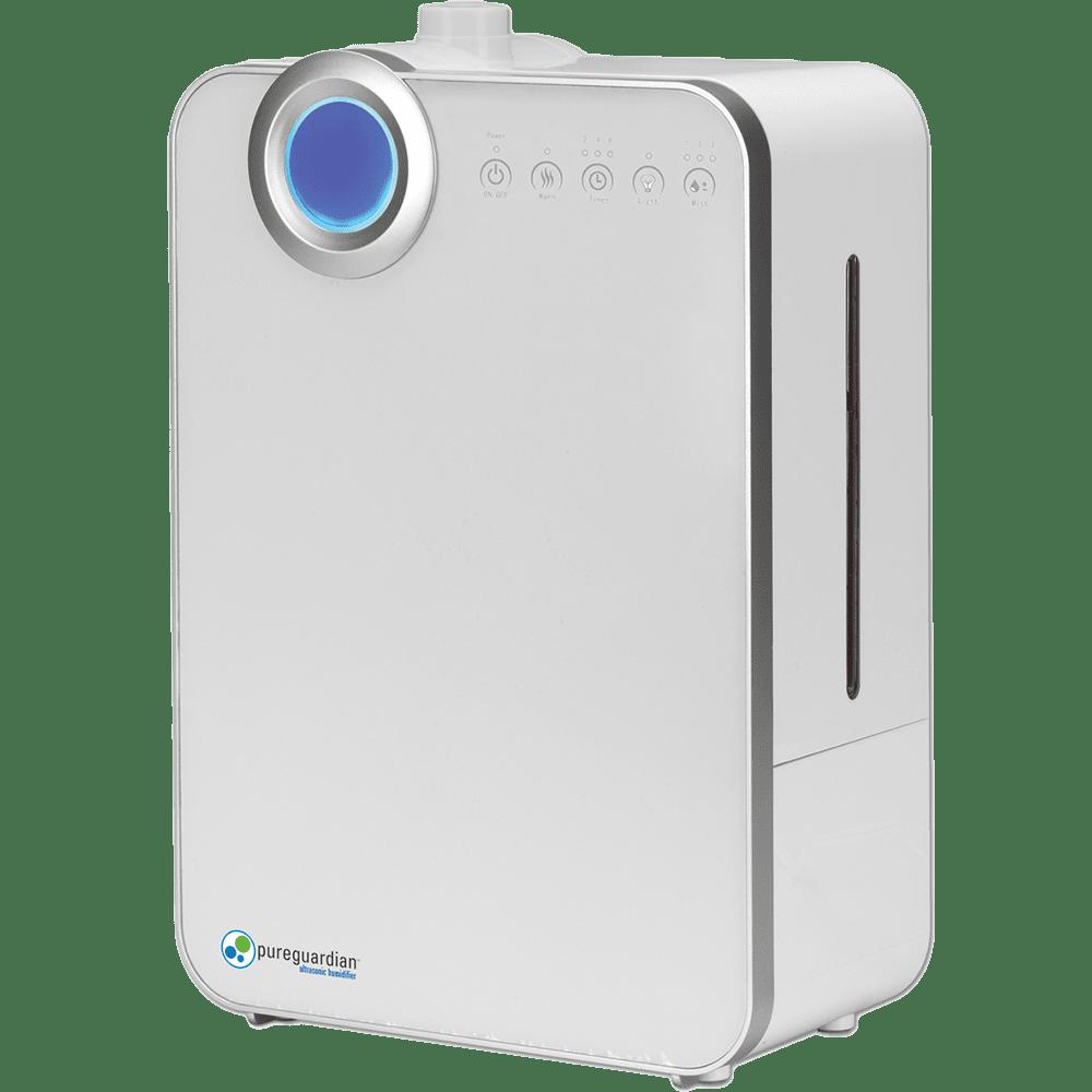 PureGuardian H7500 90-Hour Elite Ultrasonic Warm & Cool Mist Humidifier ge4517