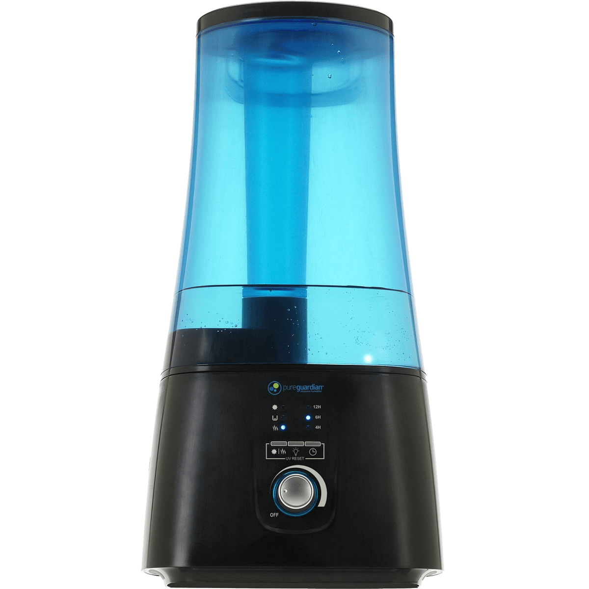 PureGuardian 100-Hour Ultrasonic Humidifier w/ UV-C (H5450BCA) ge7106
