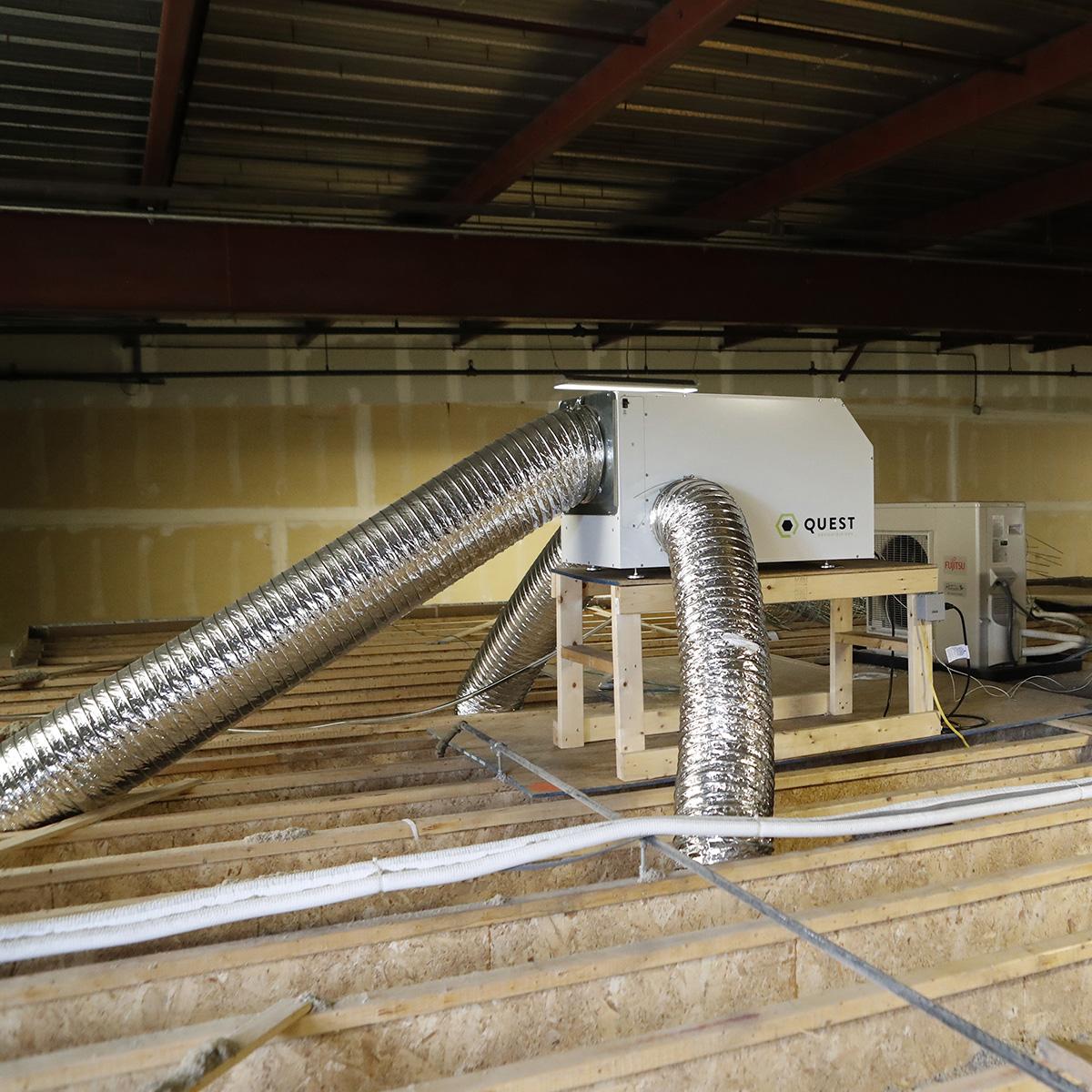 Quest dual overhead dehumidifier free shipping sylvane