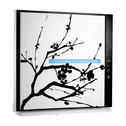 Rabbit Air MinusA2 Artist Series HEPA Air Purifier (SPA-700A) - Cherry Blossom ra2892