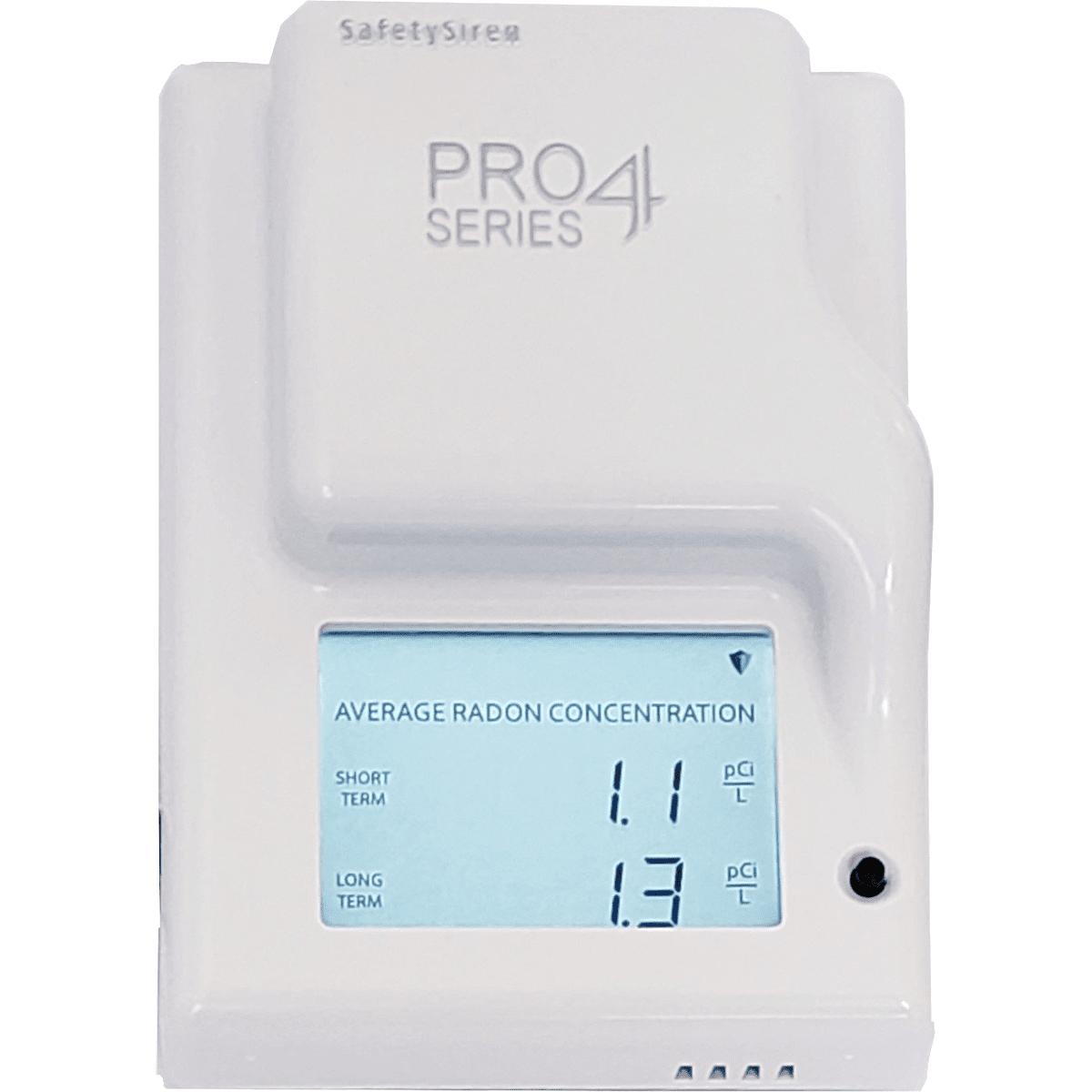 Safety Siren Pro Series4 Radon Gas Detector
