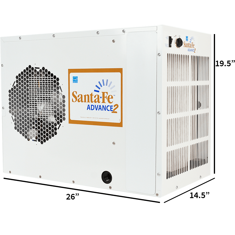 Santa Fe Releases New Santa Fe Advance2 Dehumidifier