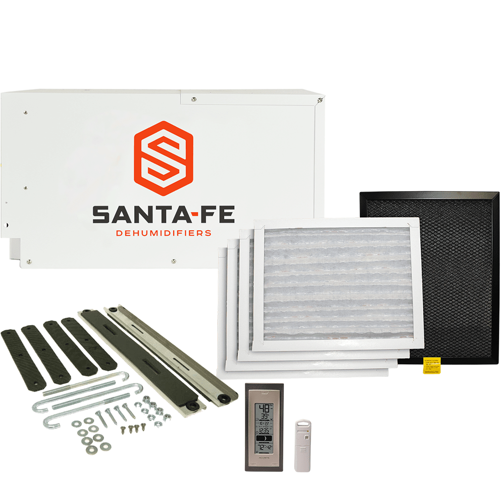 Santa Fe Compact 2 Complete Crawl Space Kit