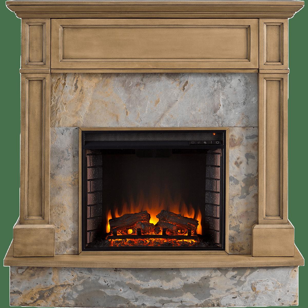 Sei Holden Stone Media Fireplace Sylvane
