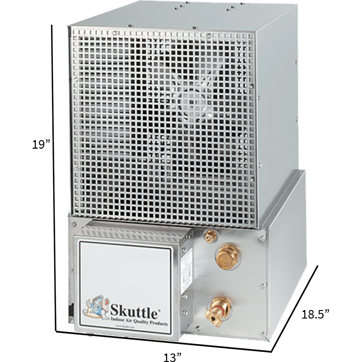 Skuttle Model 60-BC1 Stainless Steam Humidifier | Sylvane