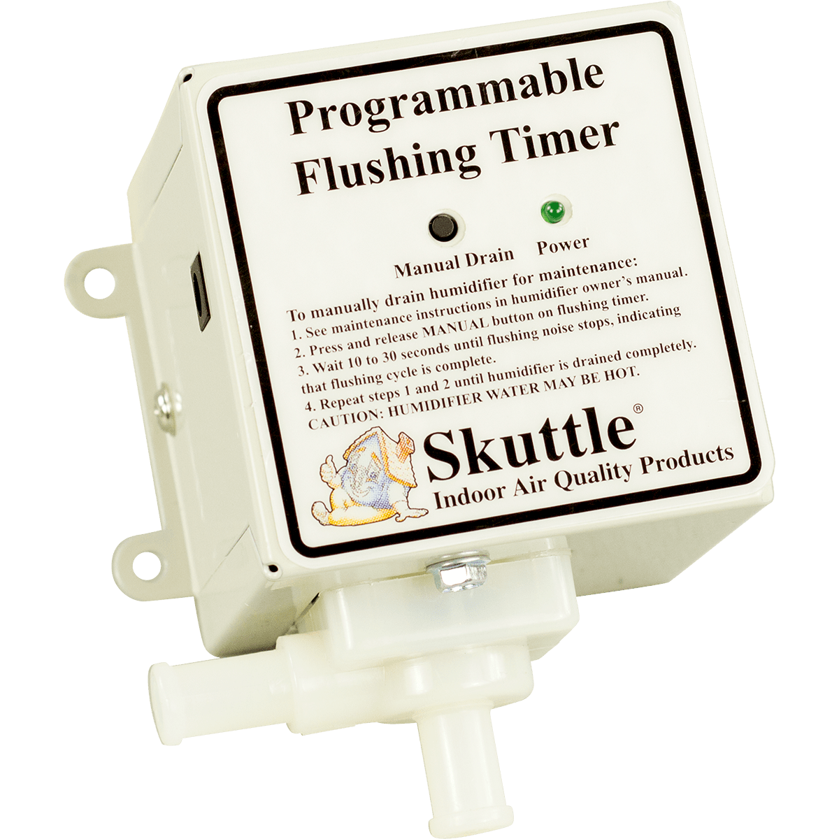 Skuttle Humidifier Automatic Flushing Timer - Free Shipping