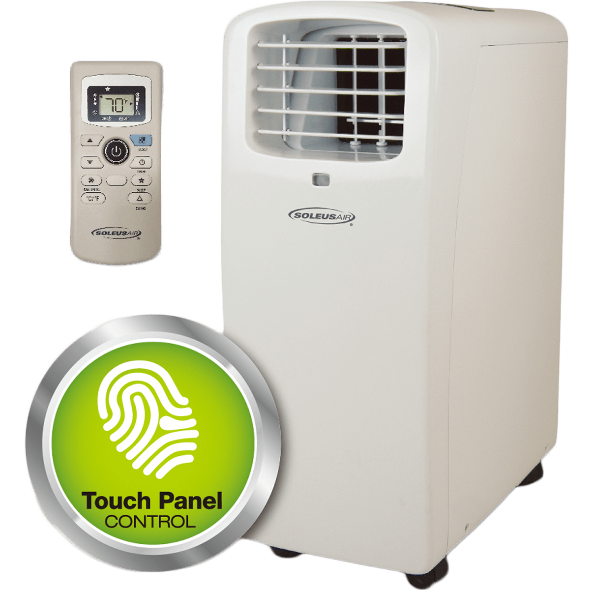Soleus Air KY120 12,000 BTU Portable Air Conditioner - With Remote