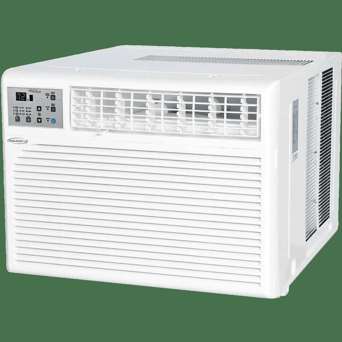 Soleus air 18 300 btu window air conditioner sylvane for 18 inch window air conditioner