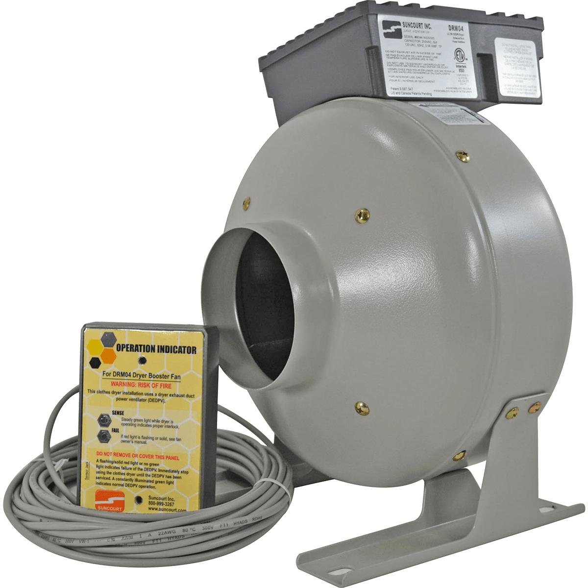 Suncourt Centrasense DEDPV Dryer Booster Fan Kit