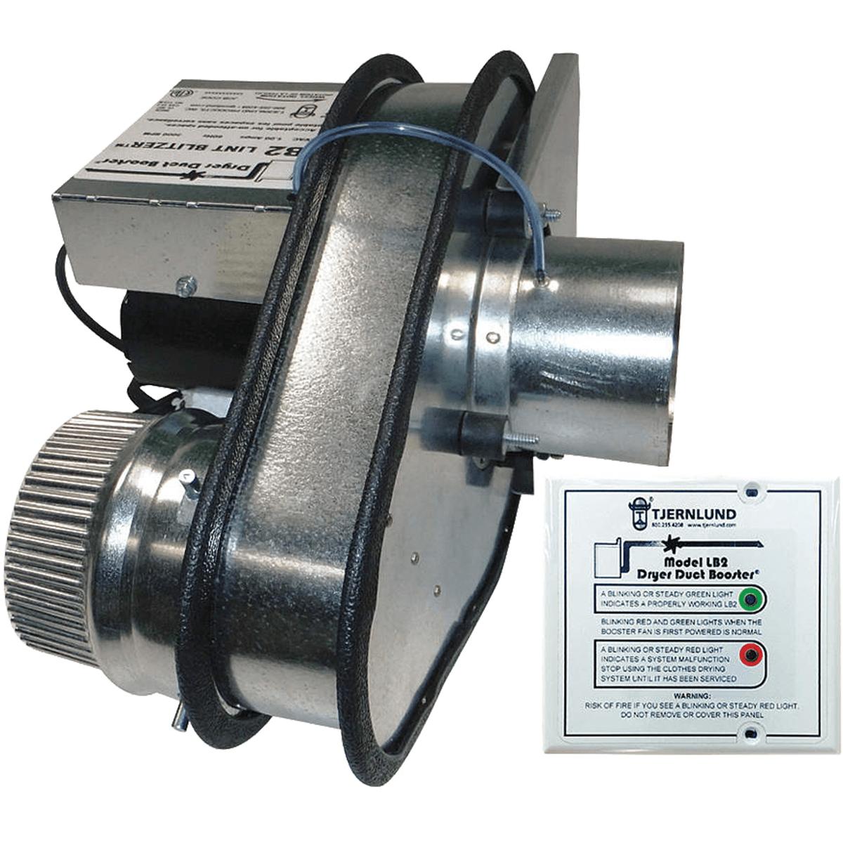 Tjernlund LB2 Dryer Duct Booster Fan