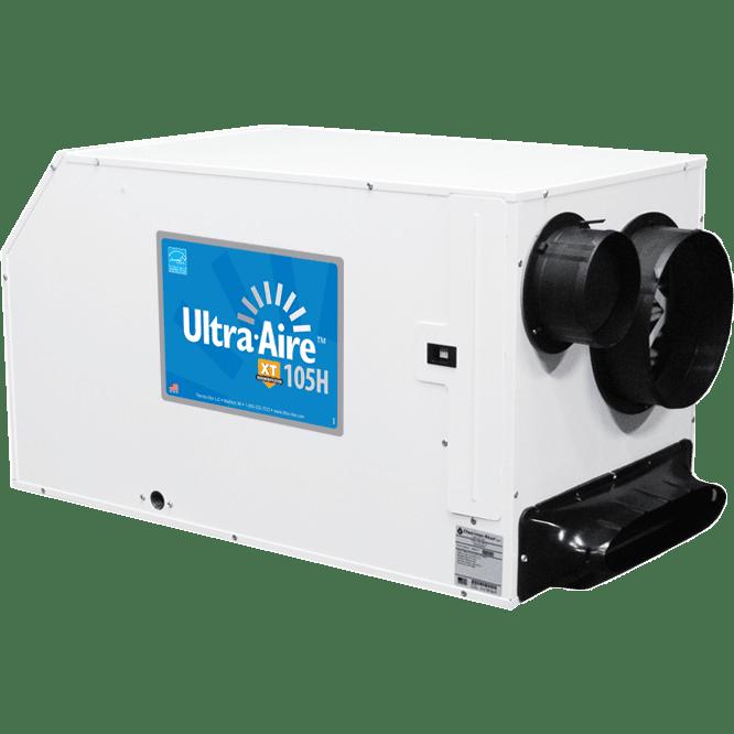 Ultra Aire 105 Pint Ventilating Dehumidifier Free