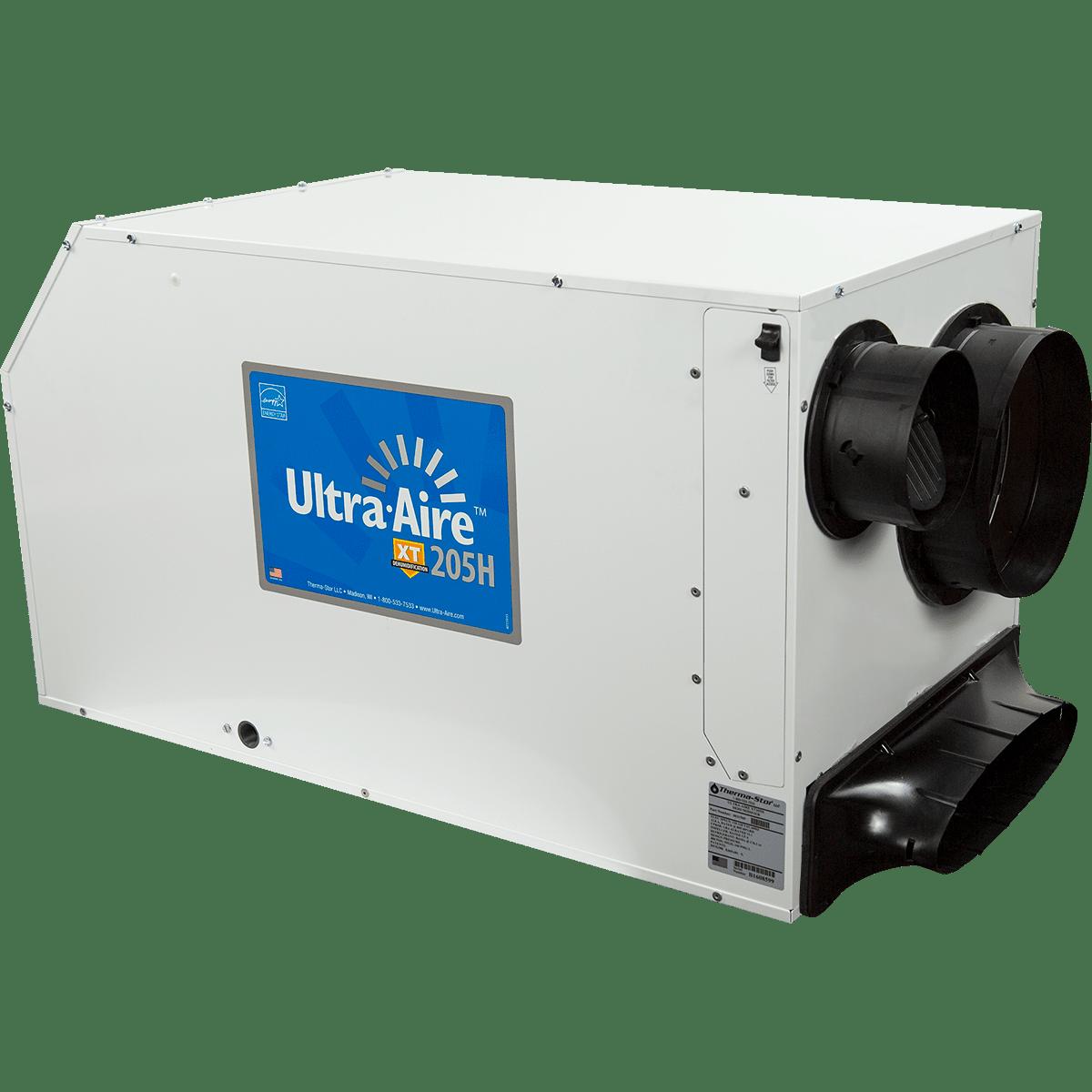 Ultra Aire 205 Pint Ventilating Dehumidifier Free