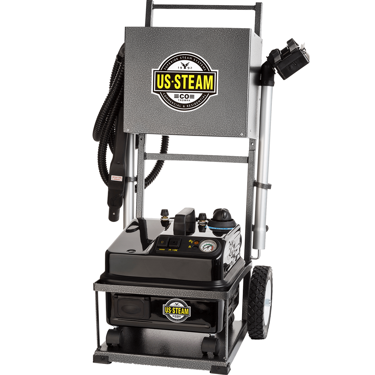 US Steam Eagle US6100 Commercial Steam Cleaner with Cart eu4761