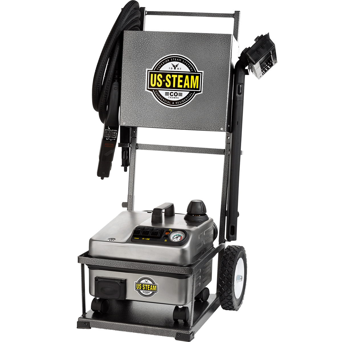 US Steam Falcon Commercial Vapor Steam Cleaner (US1900)