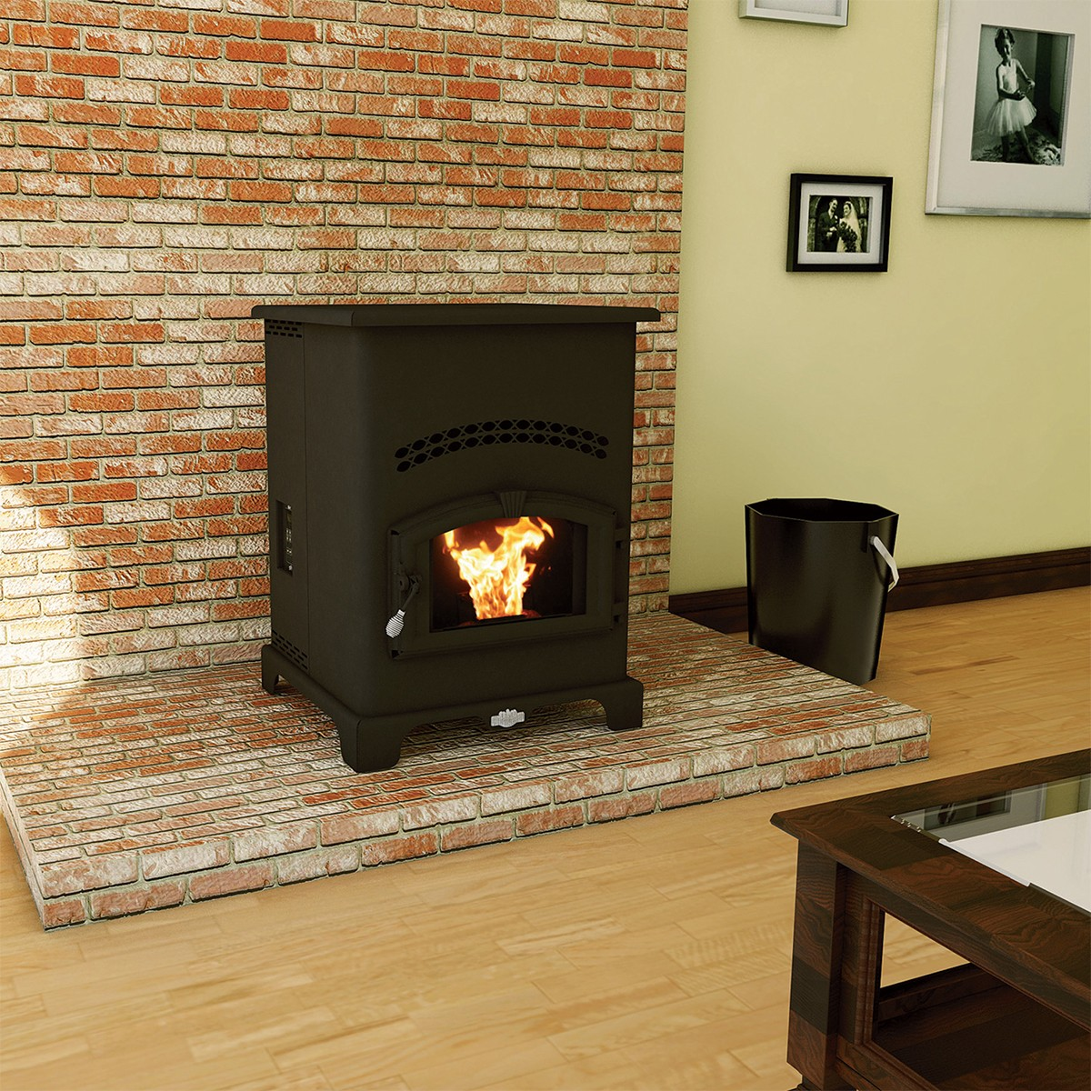US Stove 5500M King Pellet Stove on