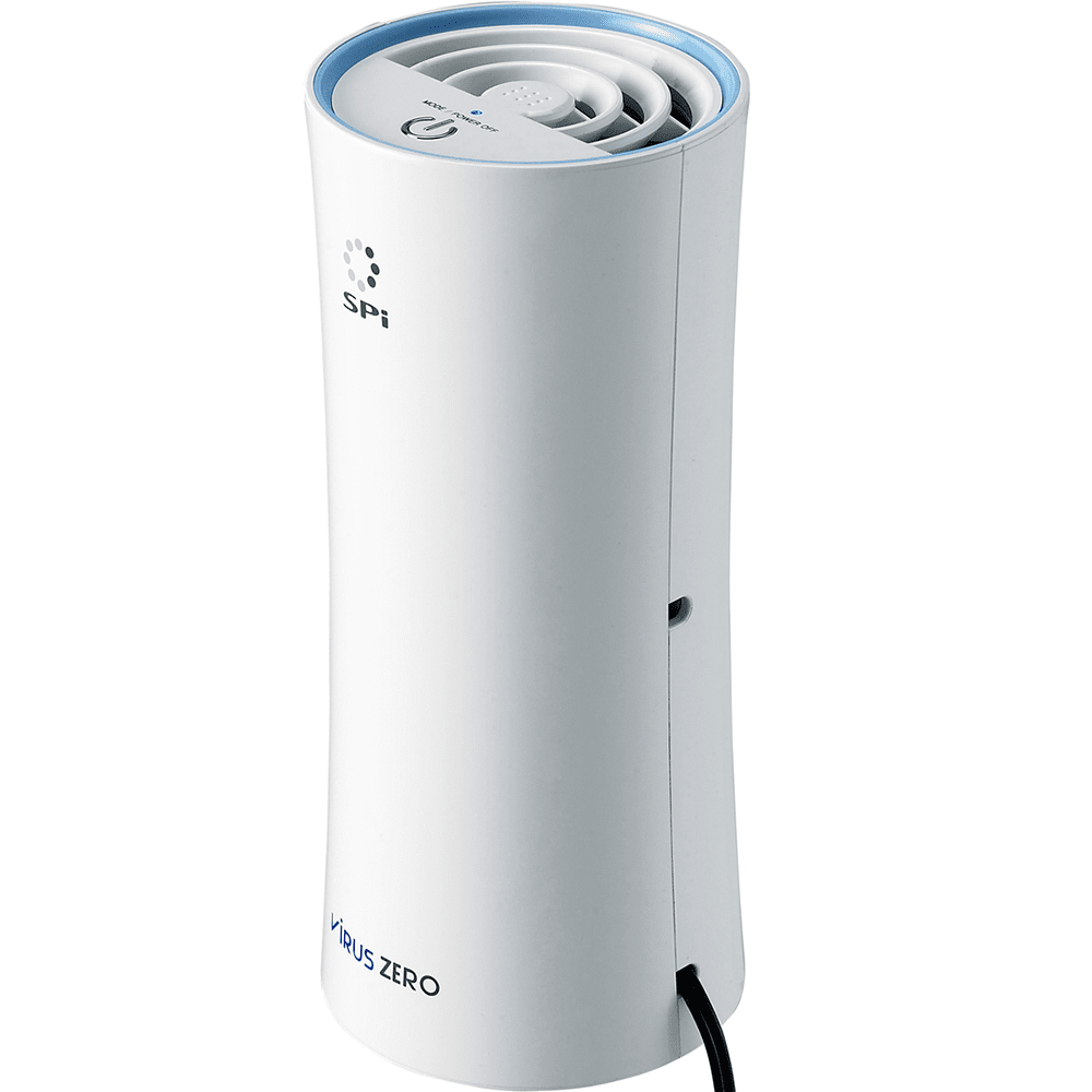 Personal Air Purifier : Car air purifier with portable adapter by virus zero sylvane