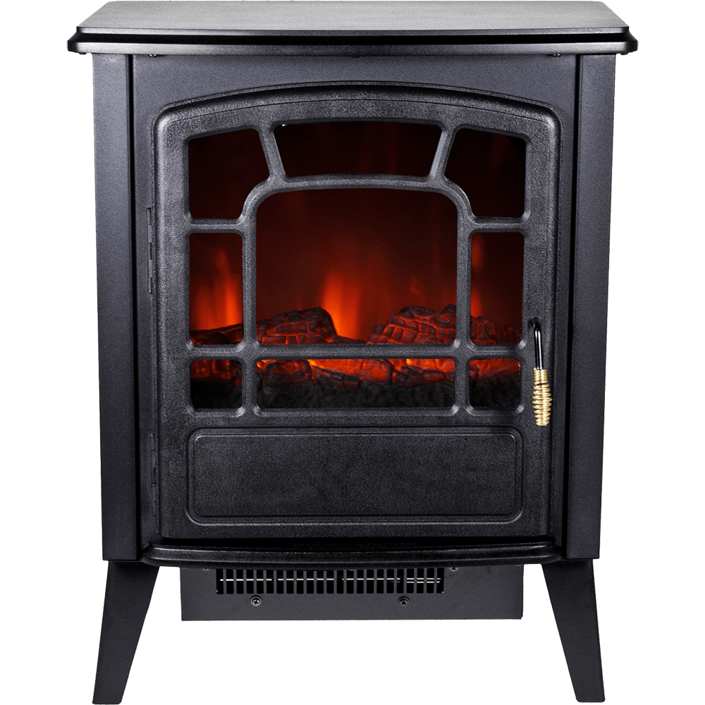Warm House Bern Freestanding Electric Fireplace Sylvane
