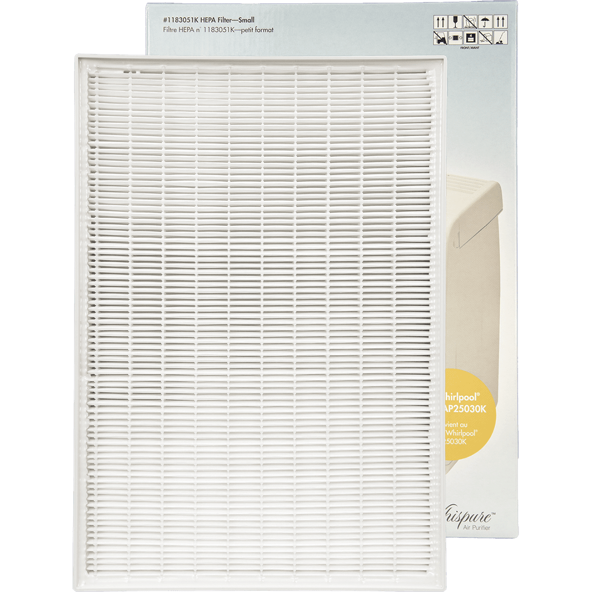 Genuine Whirlpool True HEPA Filter - Small (1183051K) wh608