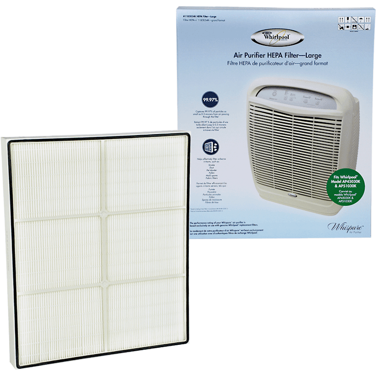Whirlpool True HEPA Filter - Large (1183054K) wh610