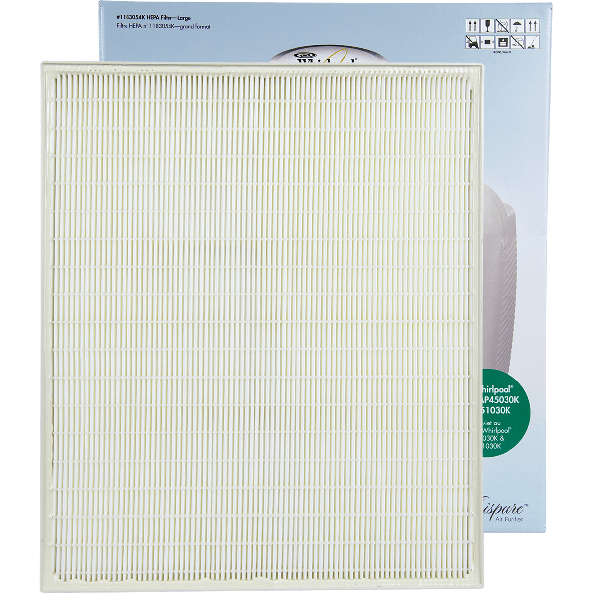 Genuine Whirlpool True HEPA Filter - Large (1183054K) wh610