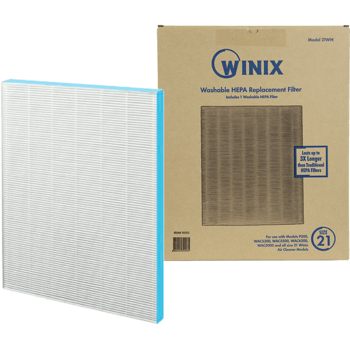 Winix Size 21 Washable True HEPA Filter (115122) wi3082