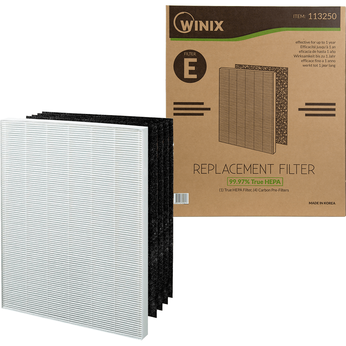 Winix Size 25 Replacement Filter Set (113250) wi3314