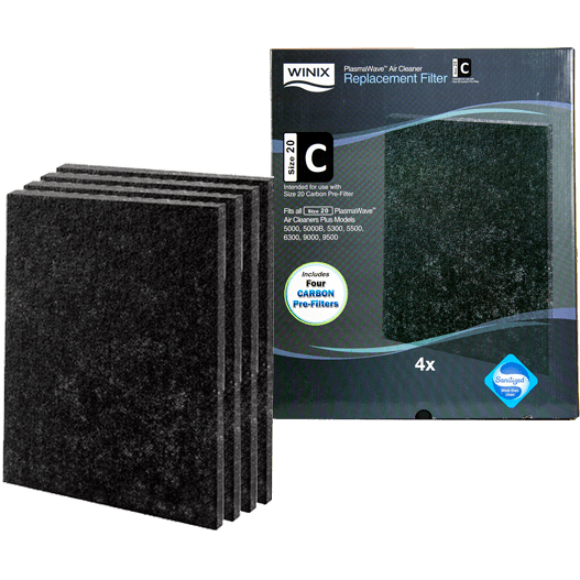 Winix Size 21 Carbon Filter 4-Pack (115119) wi3081