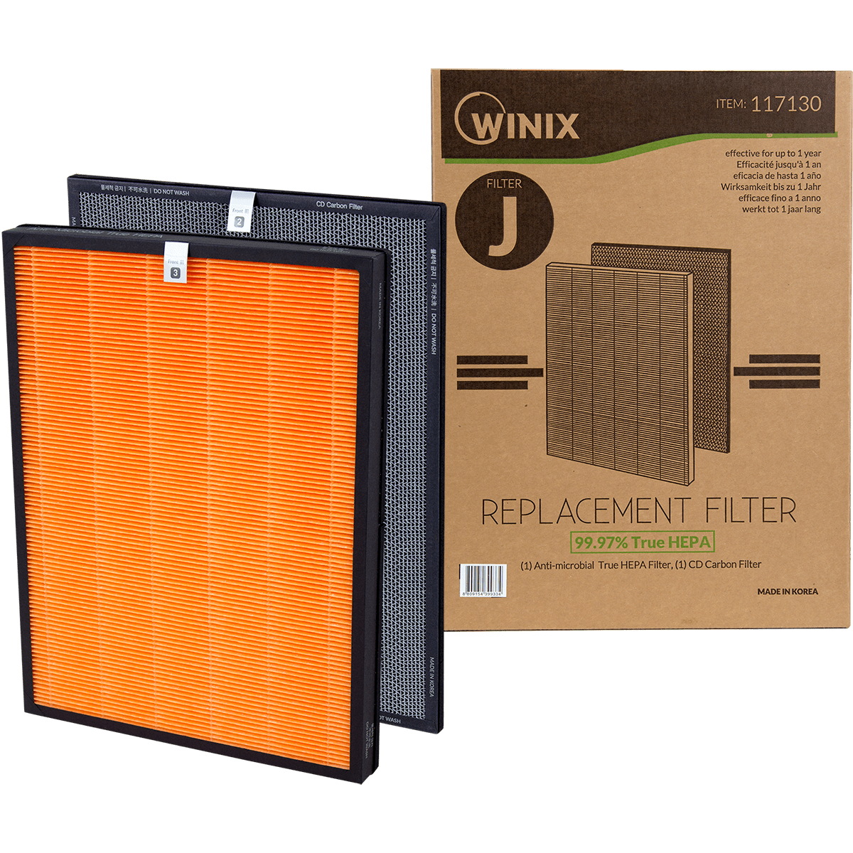 Winix Replacement Cassette for the HR950, HR951, & HR1000 Air Purifier wi5515