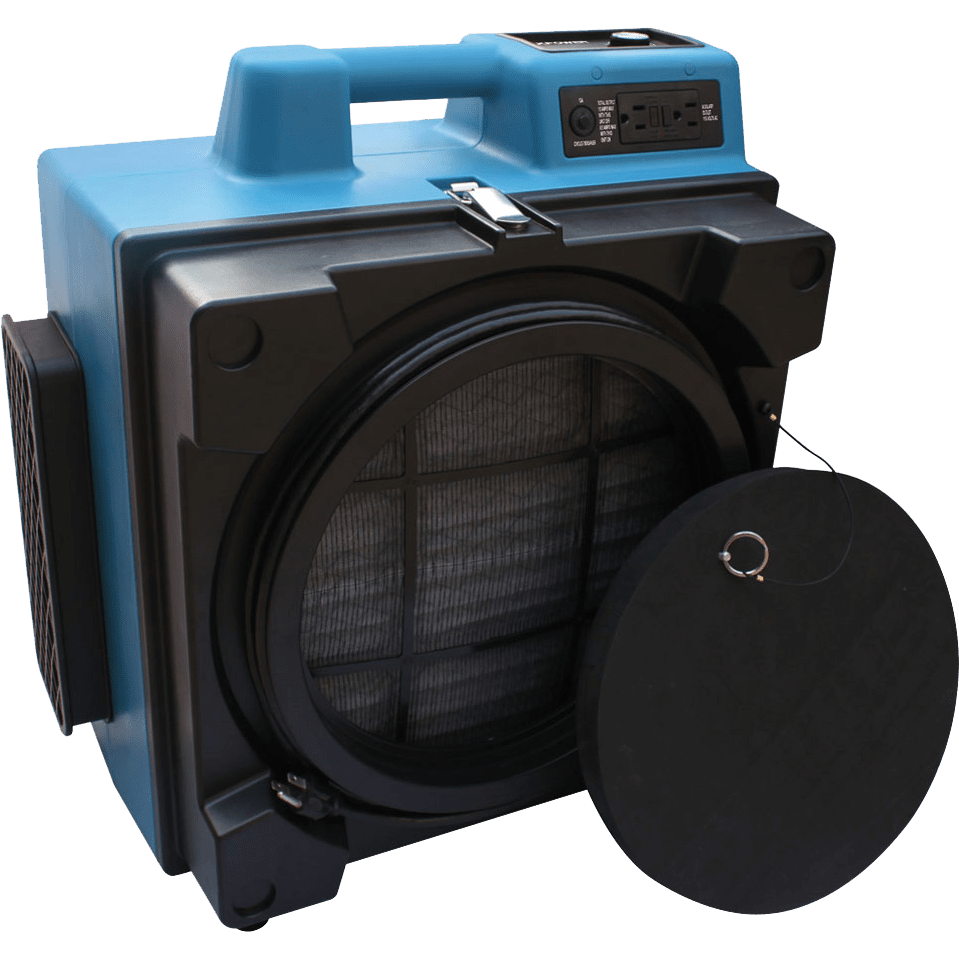 XPOWER X-3580 Commercial 4-Stage HEPA Air Scrubber